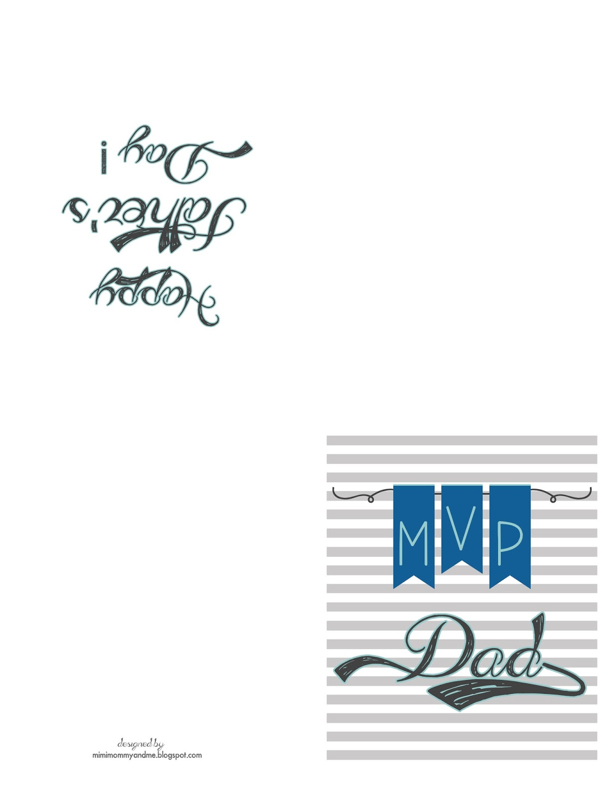http://mimimommyandme.blogspot.com/2014/06/fathers-day-card-free-printable.html #fathersdaycard #fathersday #freeprintable #printable #card
