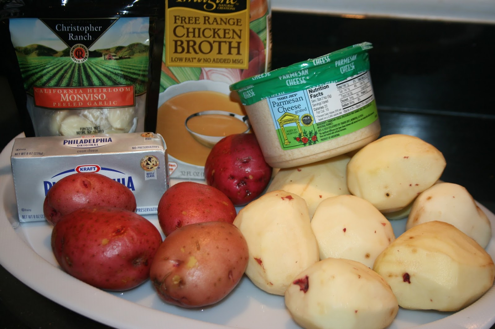 ... of Slow Cooking: Roasted Garlic Mashed Potatoes in the Slow Cooker