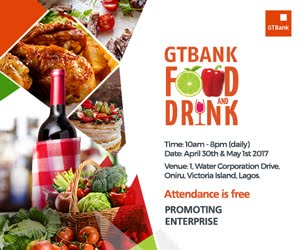 GTBank Food & Drink fair