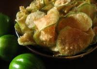 Chips de Jiló (vegana)