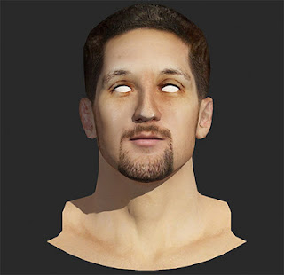 NBA 2K13 Ryan Anderson Cyberface Mod