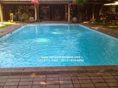 contoh model kolam renang