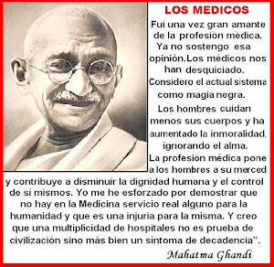 MAHATMA Y LA MEDICINA.-02.10.1869- 30.01.1948
