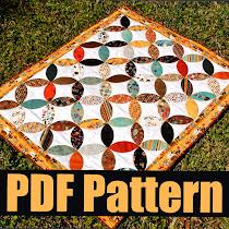 Sashiko Circles Free Pattern