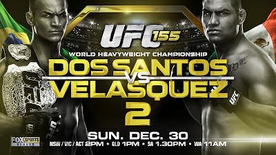 UFC Dos Santos vs Velasquez 2 Iive