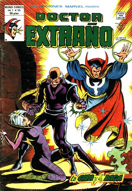 Portada Selecciones Marvel Volumen 1 Nº 55 Ediciones Vértice