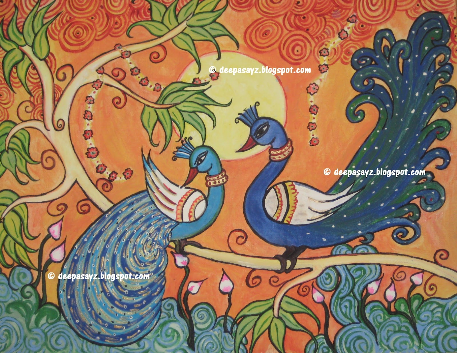 Kerala mural painting designs joy studio design gallery for Mural designs