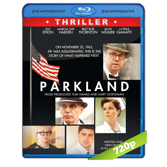 Parkland (2013) BRRip 720p Audio Dual Latino 5.1/Ingles