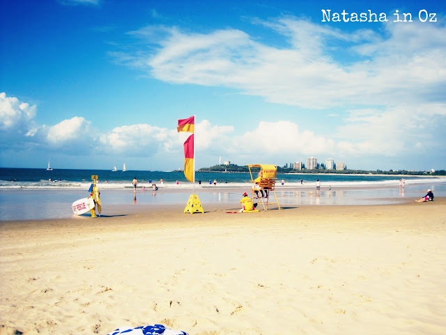 Blogging from Mooloolaba Beach & Say G'day Party Reminder