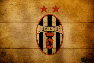 Juventus FC Logo Design on Wood Texture HD Wallpaper
