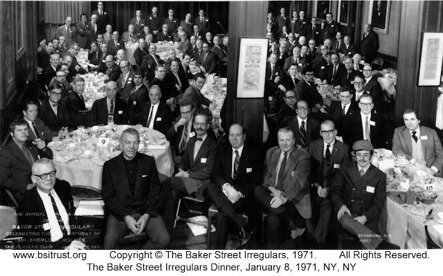 The 1971 BSI Dinner group photo