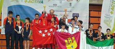 Tenis de mesa Aranjuez Campeonato de España Escolar Albacete