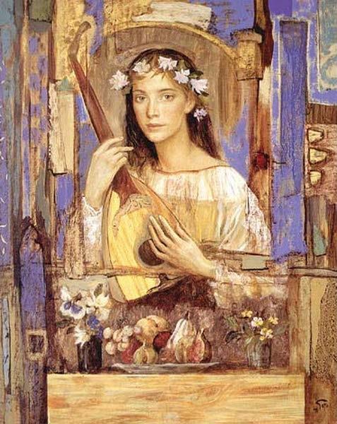 Goyo Dominguez 1960 | Spanish-born British Romantic Realist painter