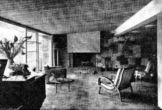 Historia de la arquitectura moderna casa obreg n bogot for Casa moderna bogota