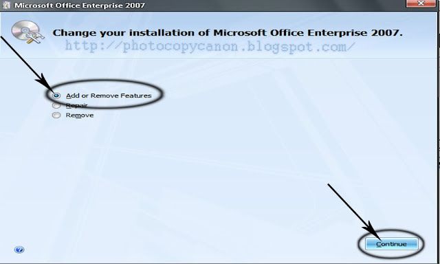 Cara Registrasi Scaner Fotocopy Canon IR ke MS Office 2