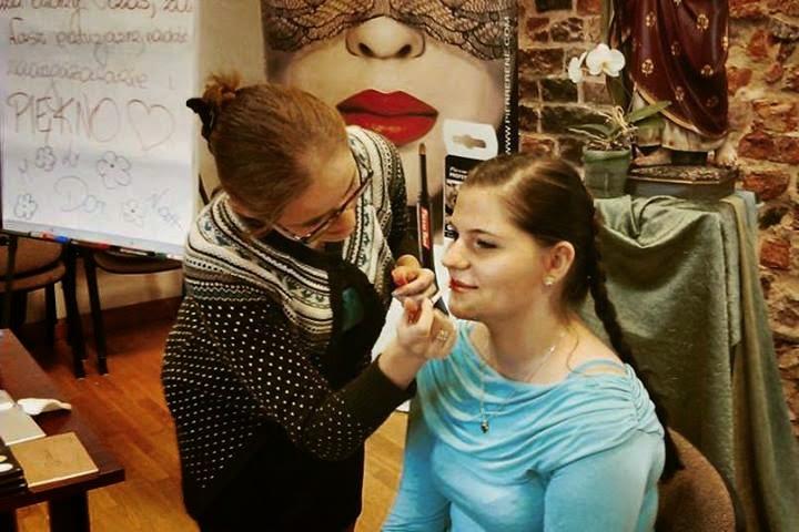 Pokaz makijażu - Potęga Piękna, Warsztat wizażu dla Pięknych