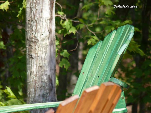 P1090682 Good ole fashioned wood picnic table!