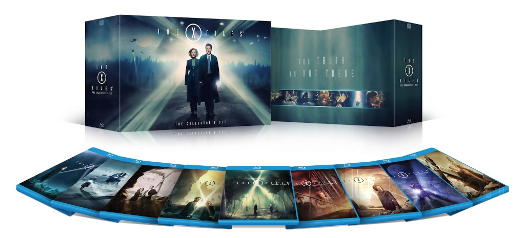 BLU RAY DVD NEWS X Files To Appear On Blu Ray For The First Time