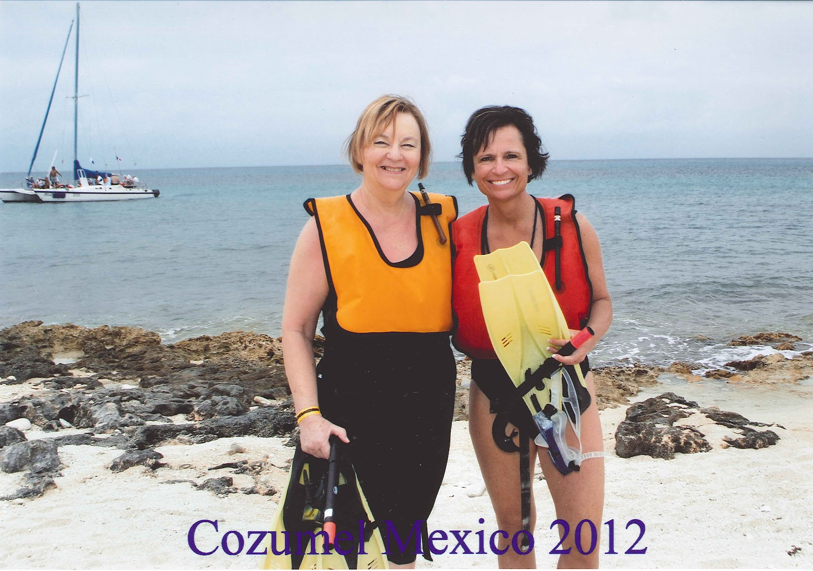 Our third stop was in Cozumel mexico. Kayaking in a glass bottom kayak and ...