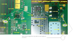 GSM Solutions: c1-01 lcd light jumper