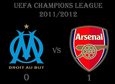Marseille vs Arsenal Champions League Result