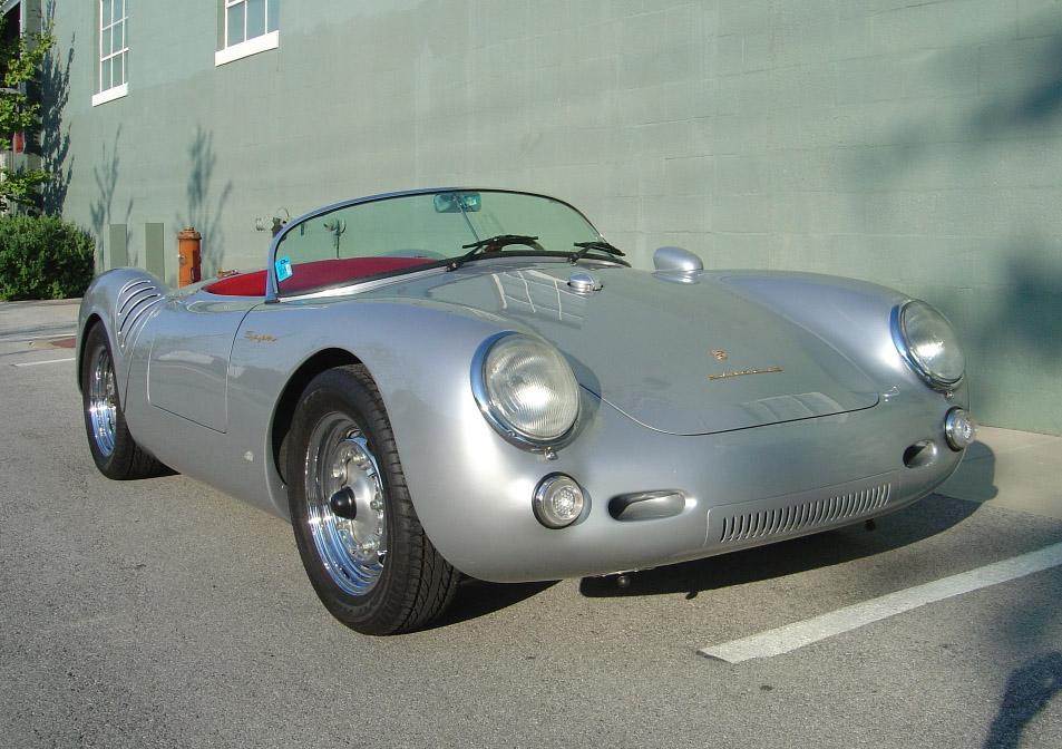 1955 Vintage Spyder Porsche Primierauto
