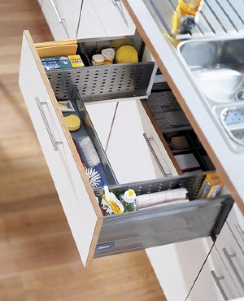 Laci Unik Di Bawah Sinki: Idea Ruang Berfungsi Yang Genius Di Dapur