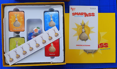 Smart Ass family board game box contents review