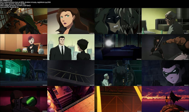 El Hijo De Batman DVDRip Latino