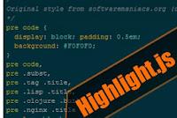 Cara membuat SyntaxHighlighter pada Blogger dengan Highlight.js