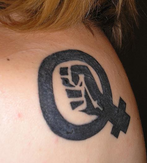 el tatuaje de Diane Renton