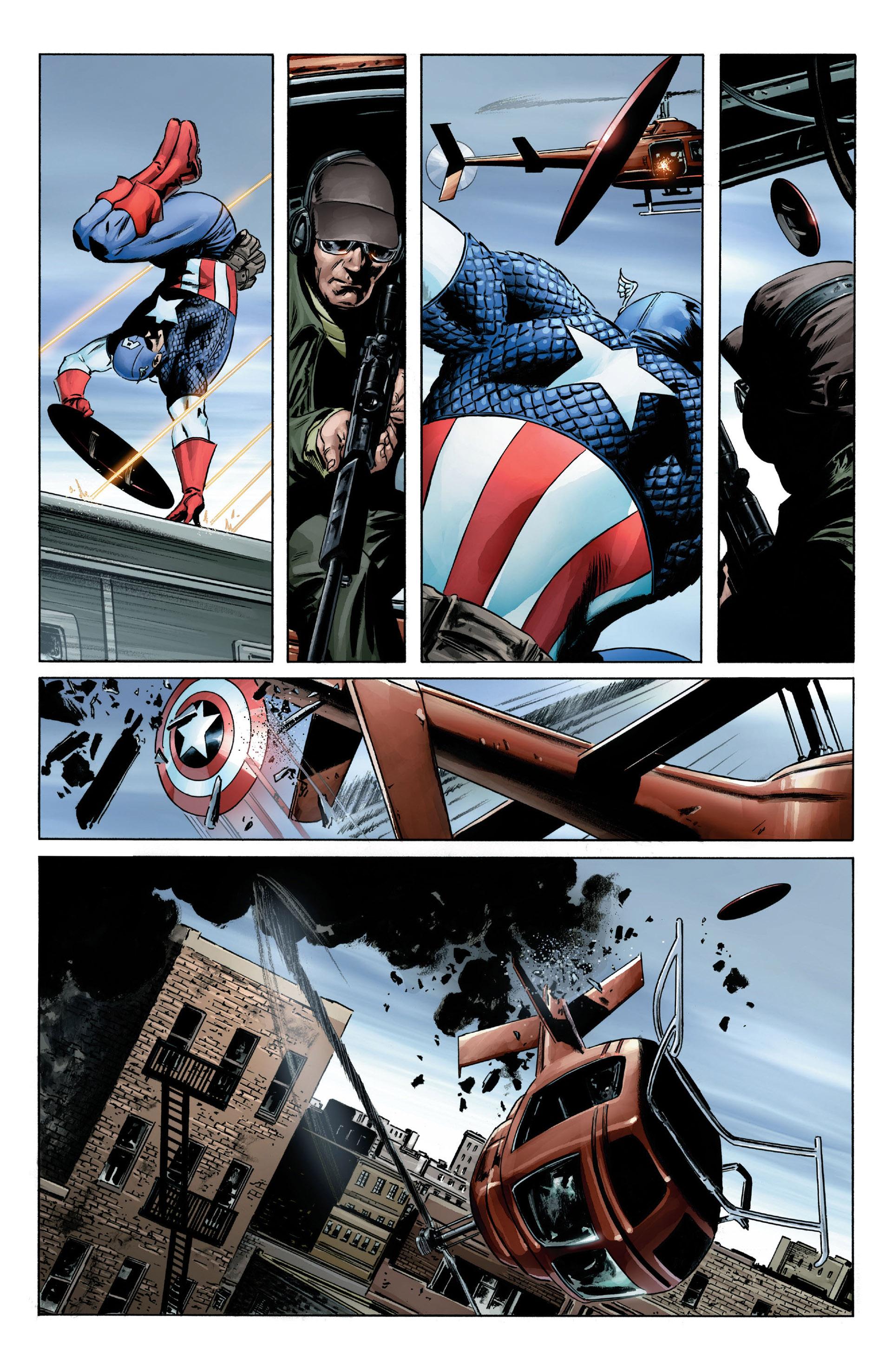 Captain America (2005) Issue #1 #1 - English 16