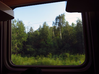 Paisajes desde el tren, transiberiano 2015