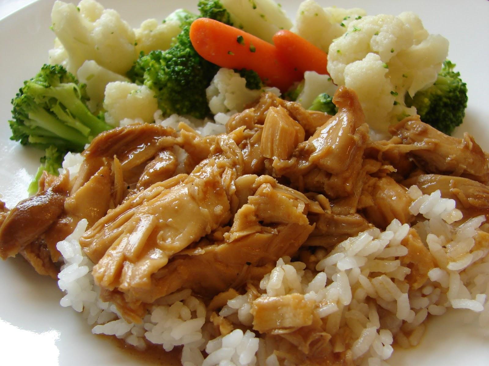 a in the kitchen crock pot teriyaki chicken
