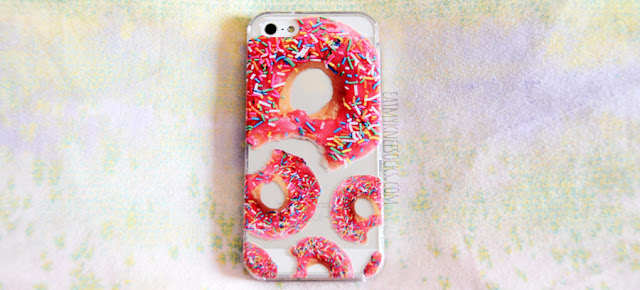 The pink donuts with sprinkles case is one of Clash Cases' most popular cases, with a delicious, quirky donut print.