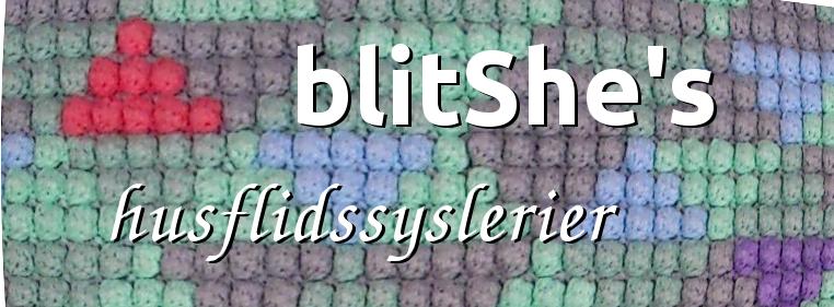 blitShe's husflidssyslerier
