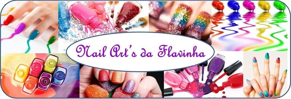 Nail Arts da Flavinha