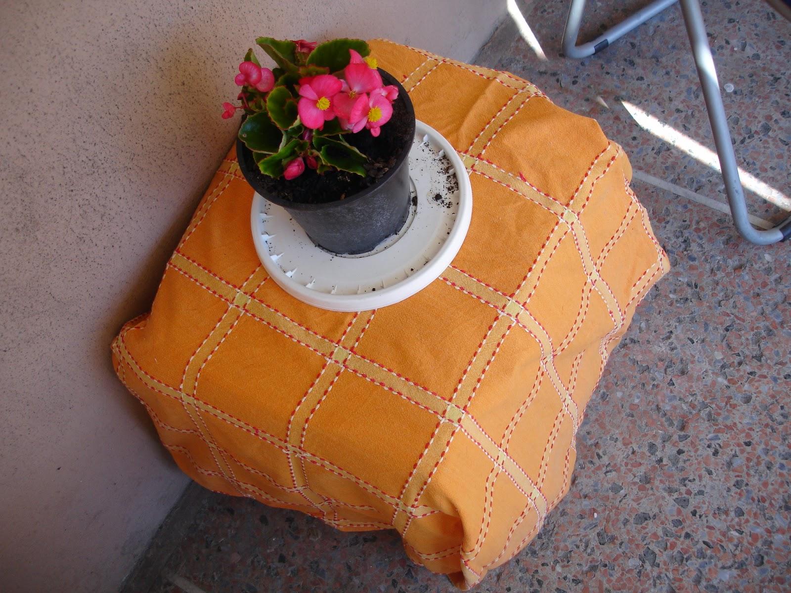 Hippie sui tacchi realizzare uno sgabello pouf mobiletto con le