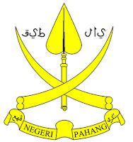 Bendera Pahang & Lambang Negeri Pahang
