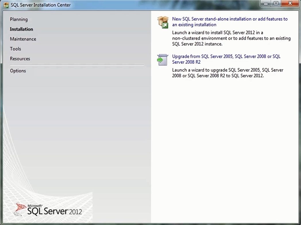 How to Install SQL Server 2012 Express      2