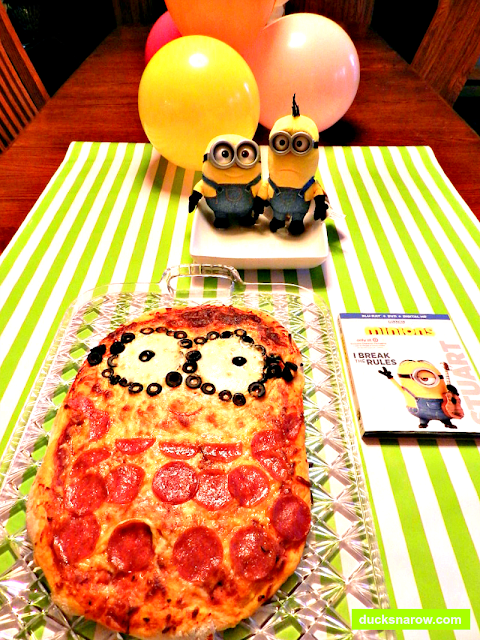 Minions Movie, #MinionsMovieNight, pizza recipe