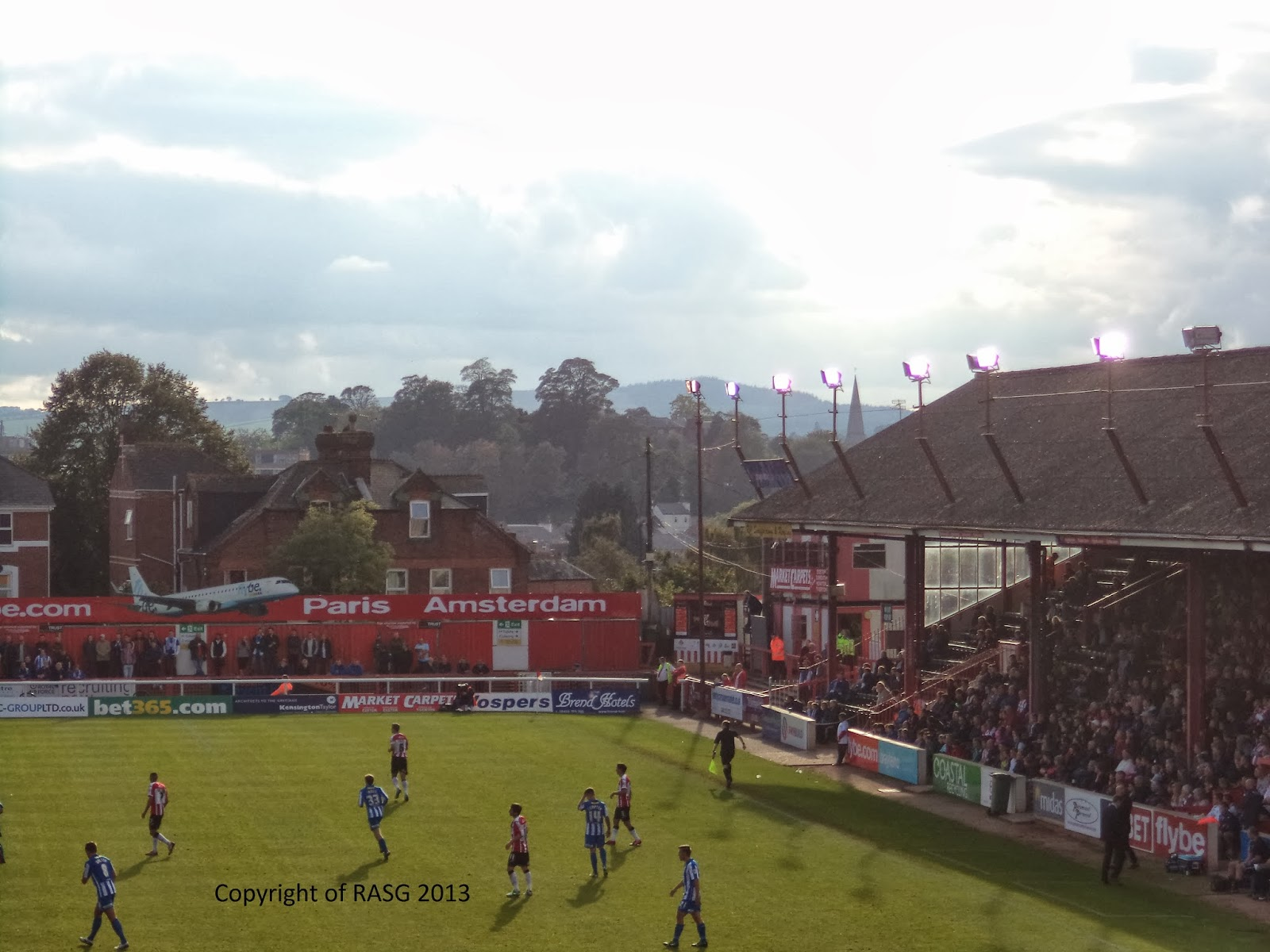 St james park exeter city 0 3 hartlepool united for Terrace exeter