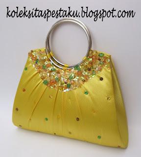 Kuning Golkar Tas Pesta Mewah dan Cantik
