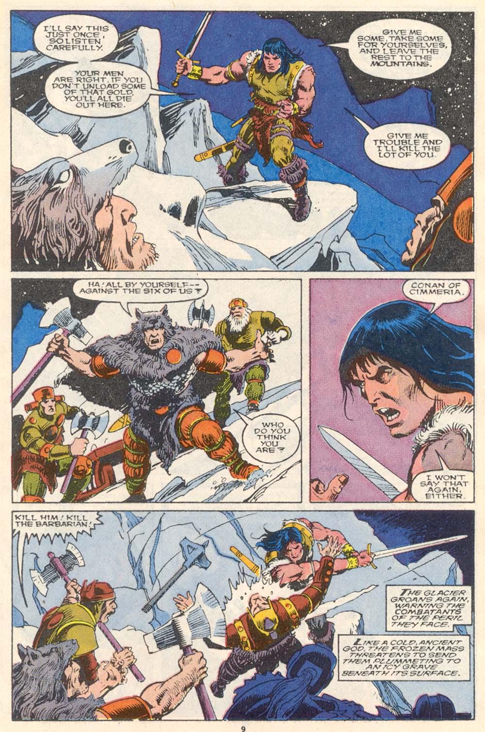 Conan the Barbarian (1970) Issue #220 #232 - English 9