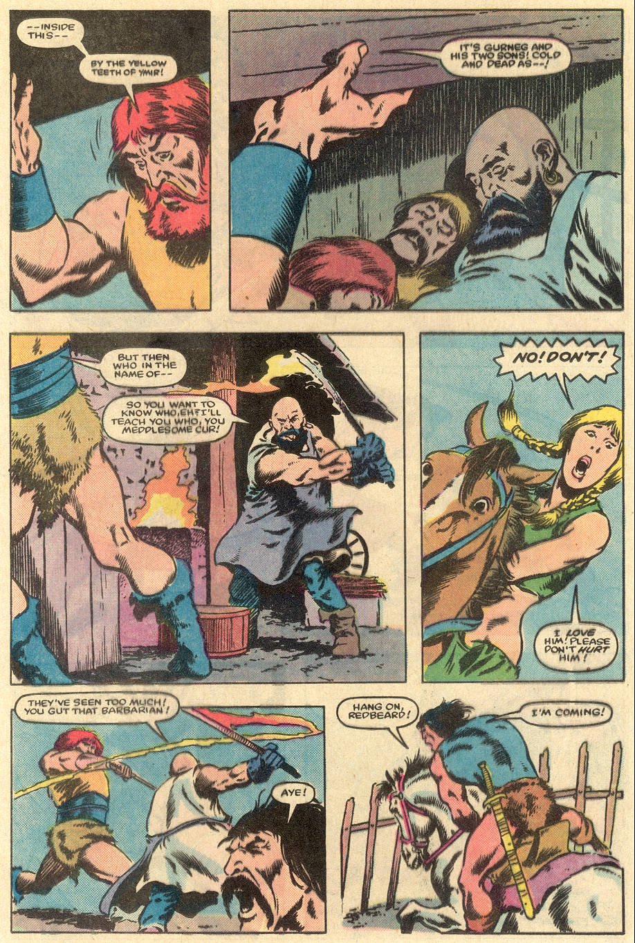 Conan the Barbarian (1970) Issue #163 #175 - English 12