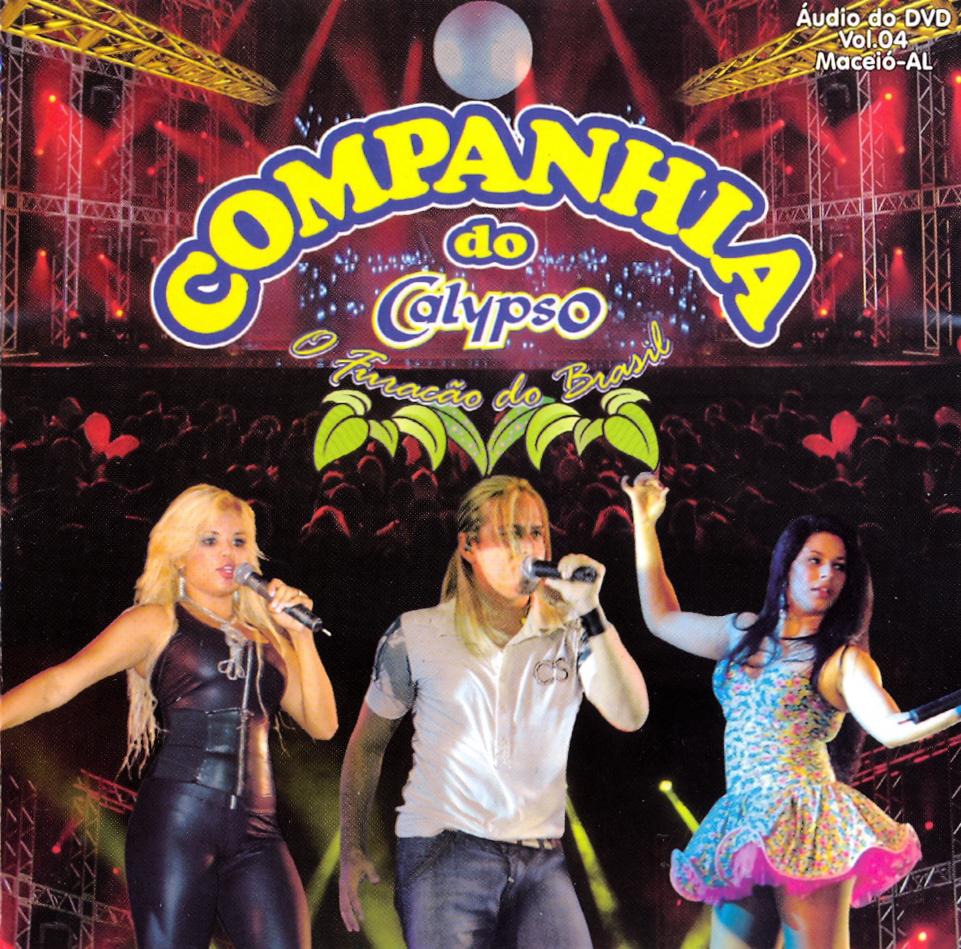 Download   Cd Companhia Do Calypso   Vol.4 Ao Vivo Em Maceió