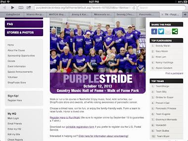 PurpleStride-Nashville 2013