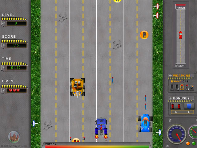 new lastest road attchk game