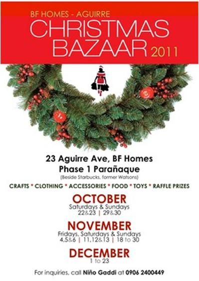 BF Homes Aguirre Christmas Bazaar ~ Do it Yourself Travel, Photographs ...
