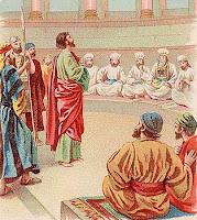 Stefanus membela imannya di hadapan imam-imam